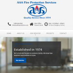 AAA Fire Protection Banner